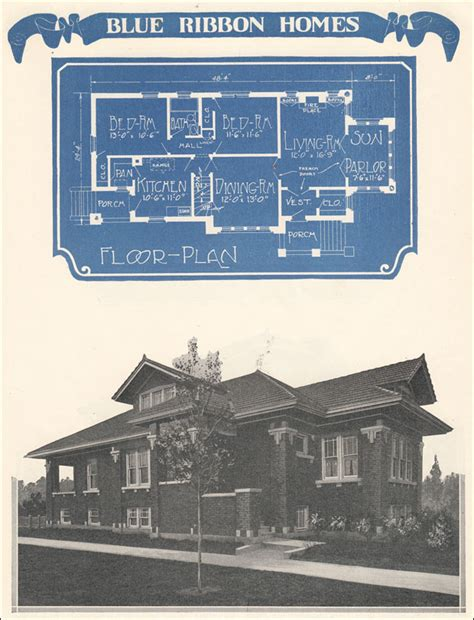chicago bungalow house plans chicago style bungalow 1924 radford s blue ribbon homes