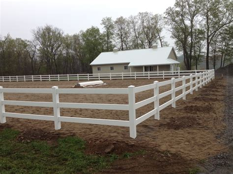 vinyl horse fence poly enterprises