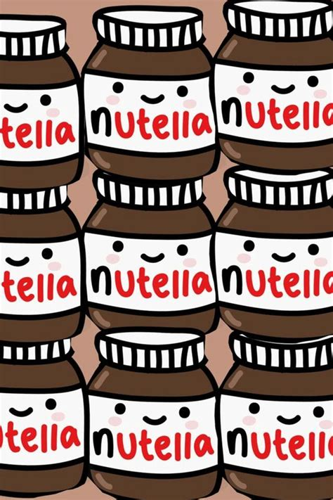 imagenes kawaii de nutella kawaii nutella should have this as a wallpaper on my