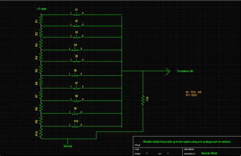 resistor ladder solved arduino and processing language page 2