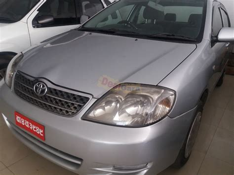 Resale Value Of Toyota Corolla Toyota Corolla 2003 Price Rs 15 50 000 Lalitpur Nepal