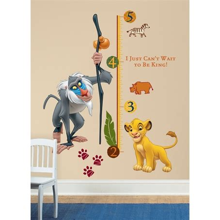 king wall stickers the king growth chart removable wall decal wall2wall