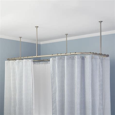 curtain rods from ceiling tips for ceiling mount curtain rods the homy design