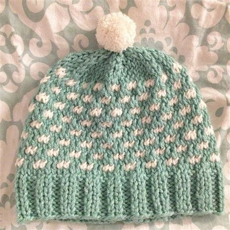 dot pattern knitting knitting pattern polka dots hat knitting pinterest