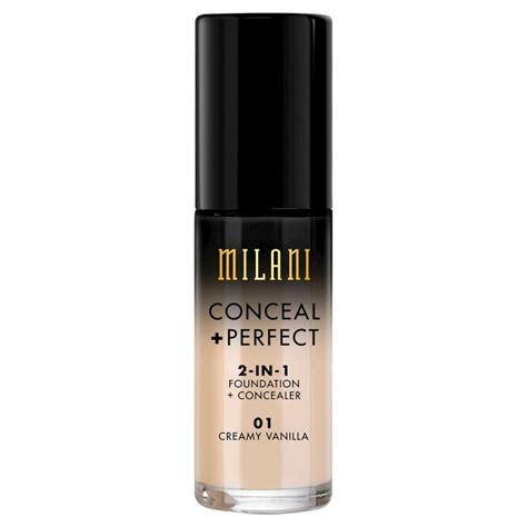 milani conceal 2in1 foundation concealer 01