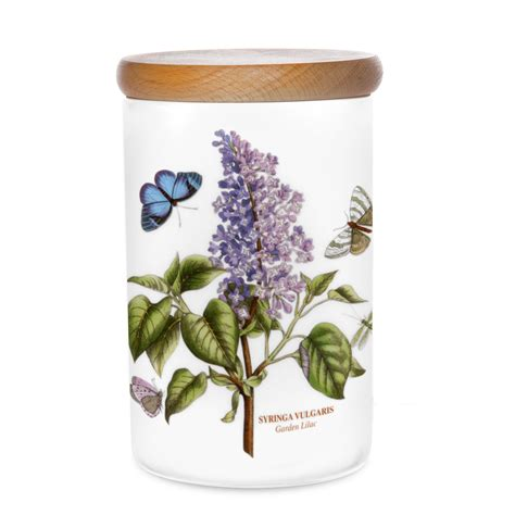 Portmeirion Botanic Garden Canisters Portmeirion Botanic Garden Classics Airtight Canister Garden Lilac 75 You Save 18 75