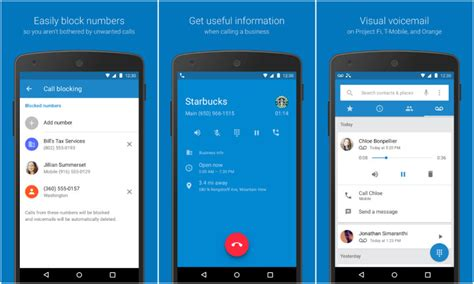 calling app for android finally brings its phone and contacts apps to the play store