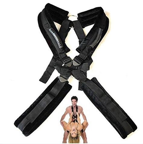 bed restraints sex lovess body sex swing fetish bed restraints bondage sling swing for couples black