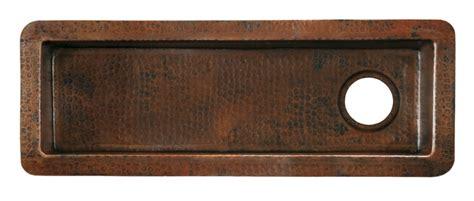 copper undermount bar sink antique copper undermount bar and prep sink uvntcps210