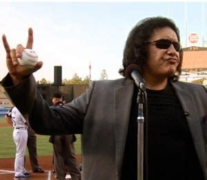 Graphic Footage Of Gene Simmons Plastic Surgery by It Gene Simmons Throws Pitch Extratv
