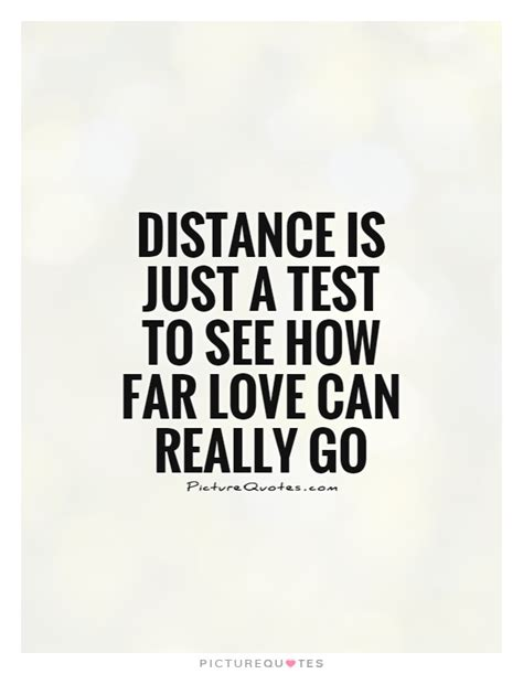 just a testo distance is just a test to see how far can really go