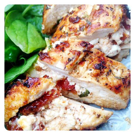 Cottage Cheese Stuffed Chicken by Sun Dried Tomato Cottage Cheese Stuffed Chicken Breast
