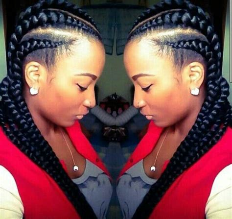 new large cornrow hairstyles large scalp braids black hair pinterest ghana braids