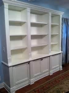 Custom Built In Bookshelves Made Built In Bookcase By Custom Craft Woodworks