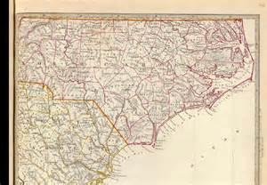 1833 map of carolina and south carolina
