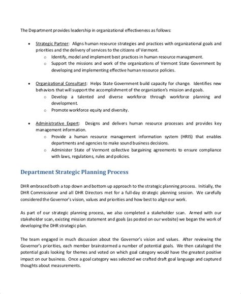 departmental business plan format exles of strategic plans download fundraising