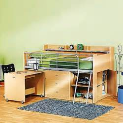 Bed And Desk For Small Room Small Space Furniture 15
