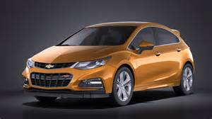 chevrolet cruze rs hatchback 2016 vray squir