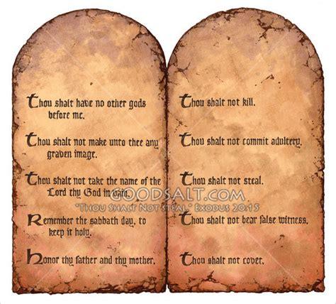 The Ten Commandments ten commandments