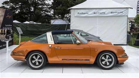 orange porsche targa 911 cars luxemburg orange porsche singer targa wallpaper