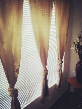 curtains too long curtains long ties and long curtains on pinterest