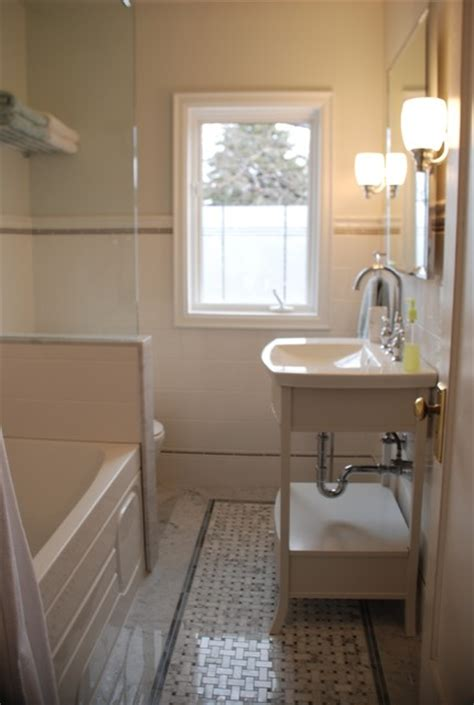 Modern Traditional Bathroom Vintage Modern Bathroom