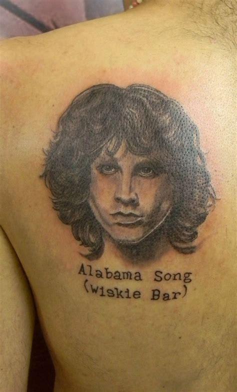 jim morrison tattoos alabama song jim morrison black and white