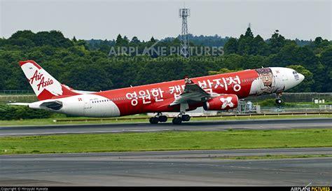 airasia narita terminal hs xtc airasia x airbus a330 300 at tokyo narita intl
