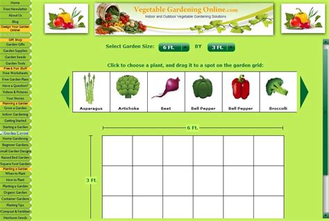 planning vegetable garden layout 7 vegetable garden planner software for better gardening the self sufficient living