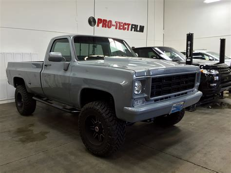 1978 chevy k20 clearbra and tint