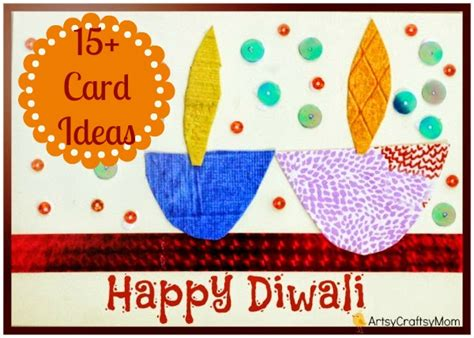 Making Gift Cards - the ultimate list of 15 diy diwali card ideas for kids to