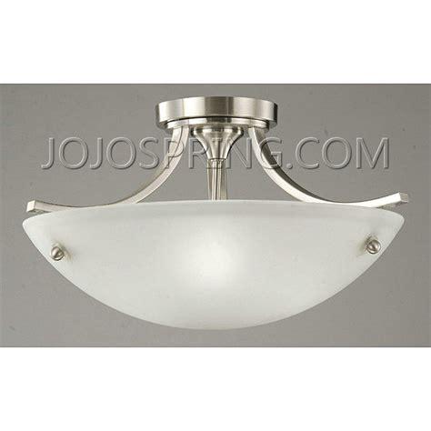 Satin Nickel Ceiling Light Fixtures Satin Nickel 3 Light Ceiling L
