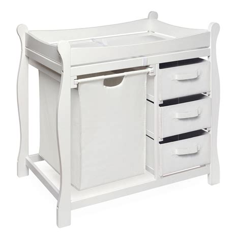 Sears Changing Table Badger Basket White Baby Changing Table With Her And 3 Baskets