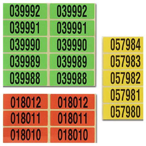 Etiketten Drucken Fortlaufender Nummerierung by Spektral Druck Sonderl 246 Sungen