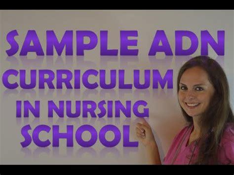 nursing school classes nursing school curriculum for adn associates degree