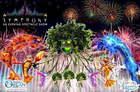 manila ocean parks symphony evening show promo