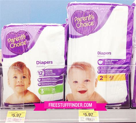printable parent s choice diaper coupons hot 1 50 off parent s choice diapers at walmart