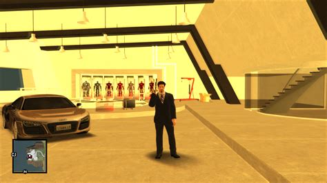 Gta Sa Car Garage Mod by Tony Stark Garage New Version Image Gta Iron Mod For