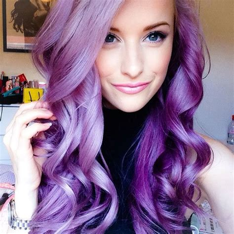 Purple Hairstyles 30 purple hairstyle ideas for this season