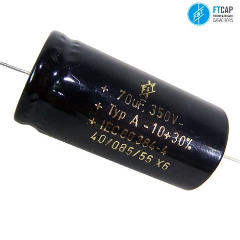f t capacitors uk f t electrolytic axial type a capacitors hifi collective
