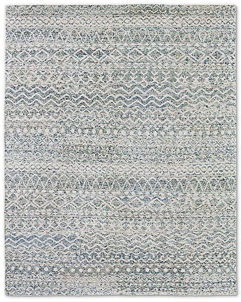 Pad Zahira zahira moroccan rug ivory blue