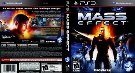Second Ps3 Mass Effect 2 1 Custom Mass Effect Ps3 Cover By Joseomatic Ign
