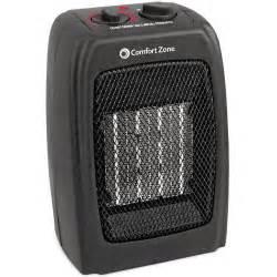 Comfort Zone Ceramic Heater Comfort Zone 5 120 Btu Multi Purpose Ceramic Heater Black
