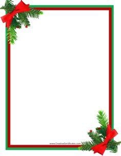 free christmas borders. instant download. many designs