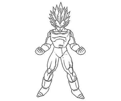 printable vegeta coloring pages coloring