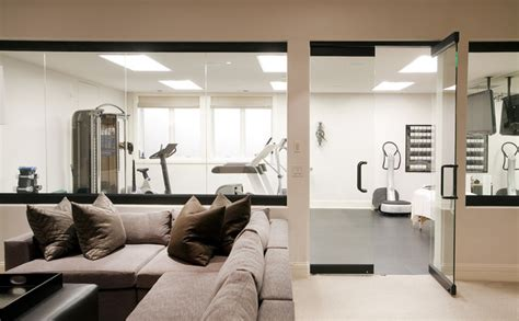 home gym interior design hilltop residence contemporary home gym denver by