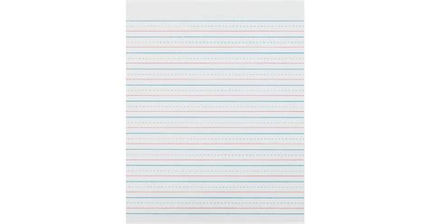 zaner bloser writing paper printable zaner bloser 1 2in ruled sulphite paper gr 3 paczp2413