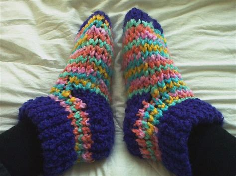 loom knitting slippers 17 best images about loom knit slippers on