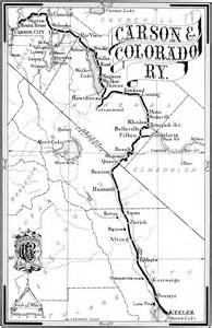 carson and colorado railroad map railroads in dayton nevada