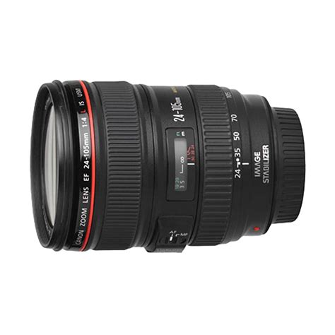 Lensa Canon 24 105mm L Series jual canon ef 24 105mm f 4l is usm lensa kamera harga kualitas terjamin blibli